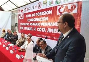 debe de ser sinónimo de respeto, de cooperación, y de suma de esfuerzos en beneficio de los campesinos de México